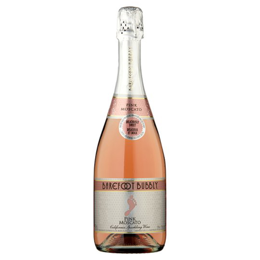 BAREFOOT BUBBLY PINK MOSCATO 750