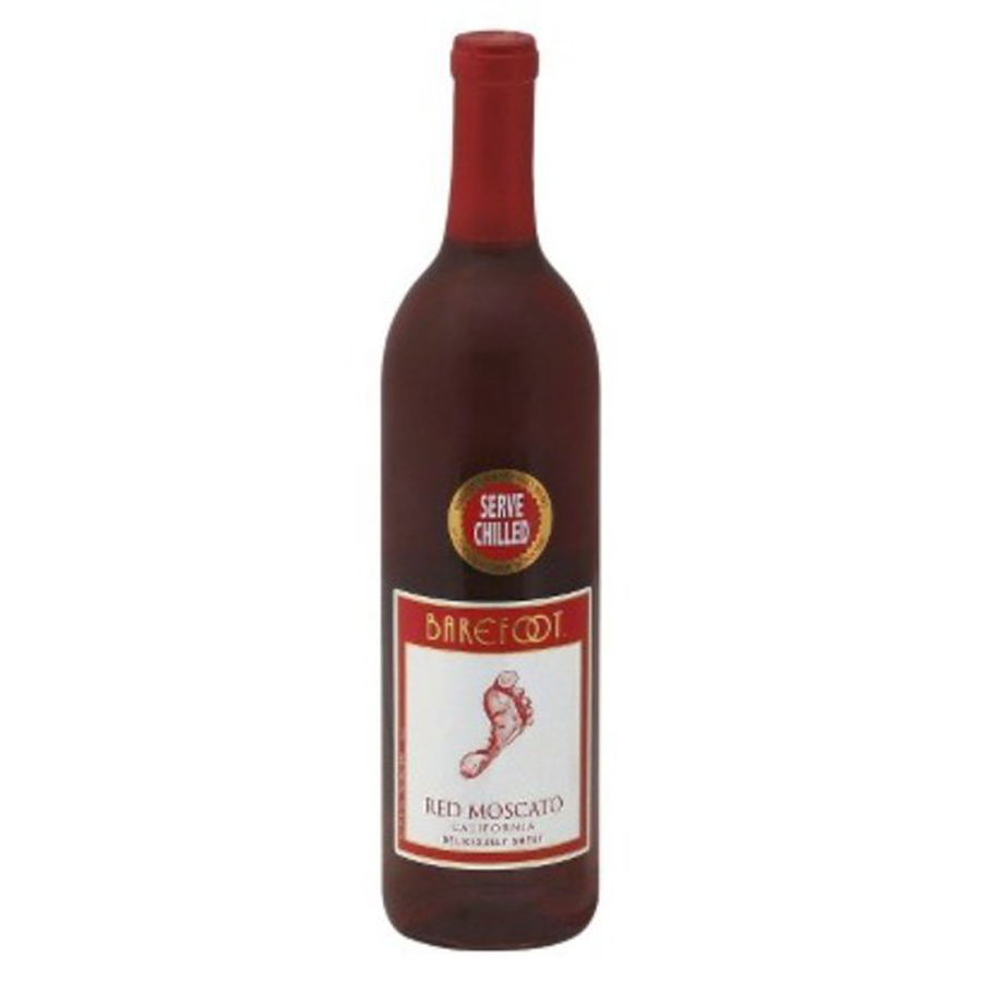 BAREFOOT RED MOSCATO 750