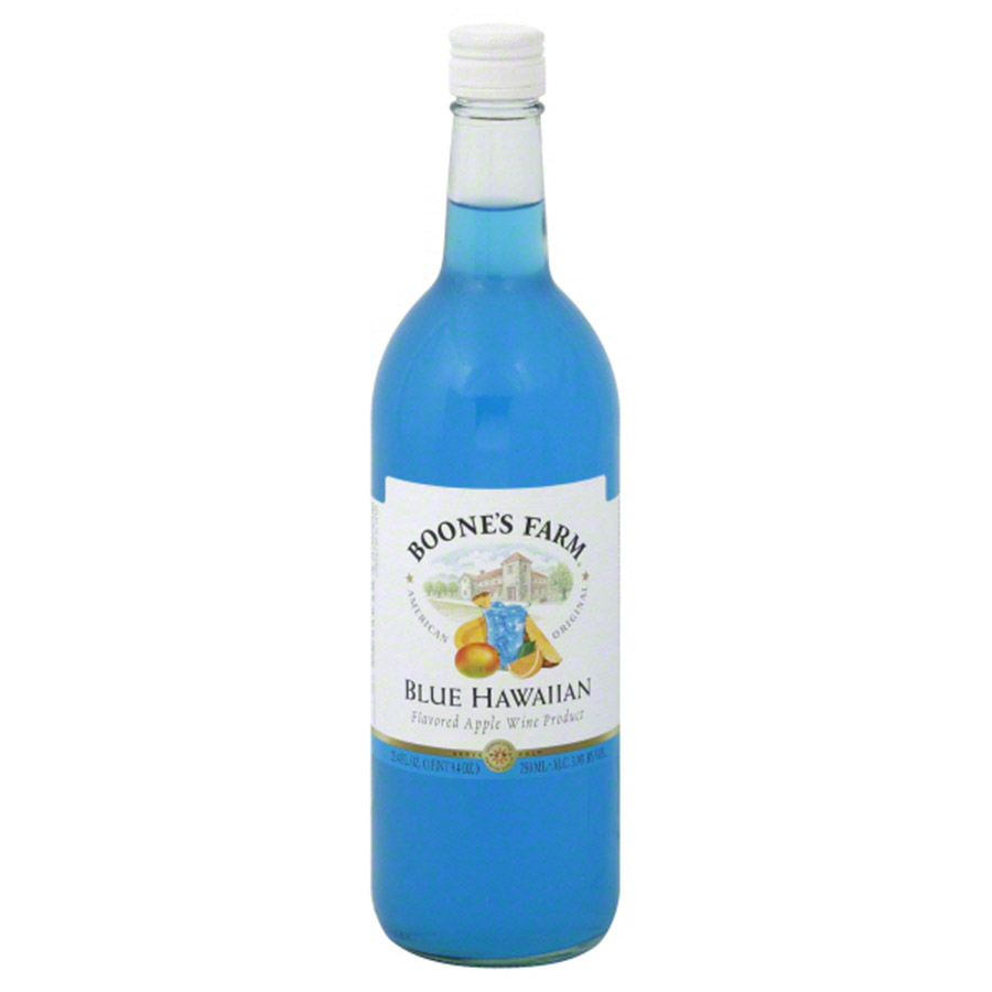 BOONES FARM BLUE HAWAIIAN 750