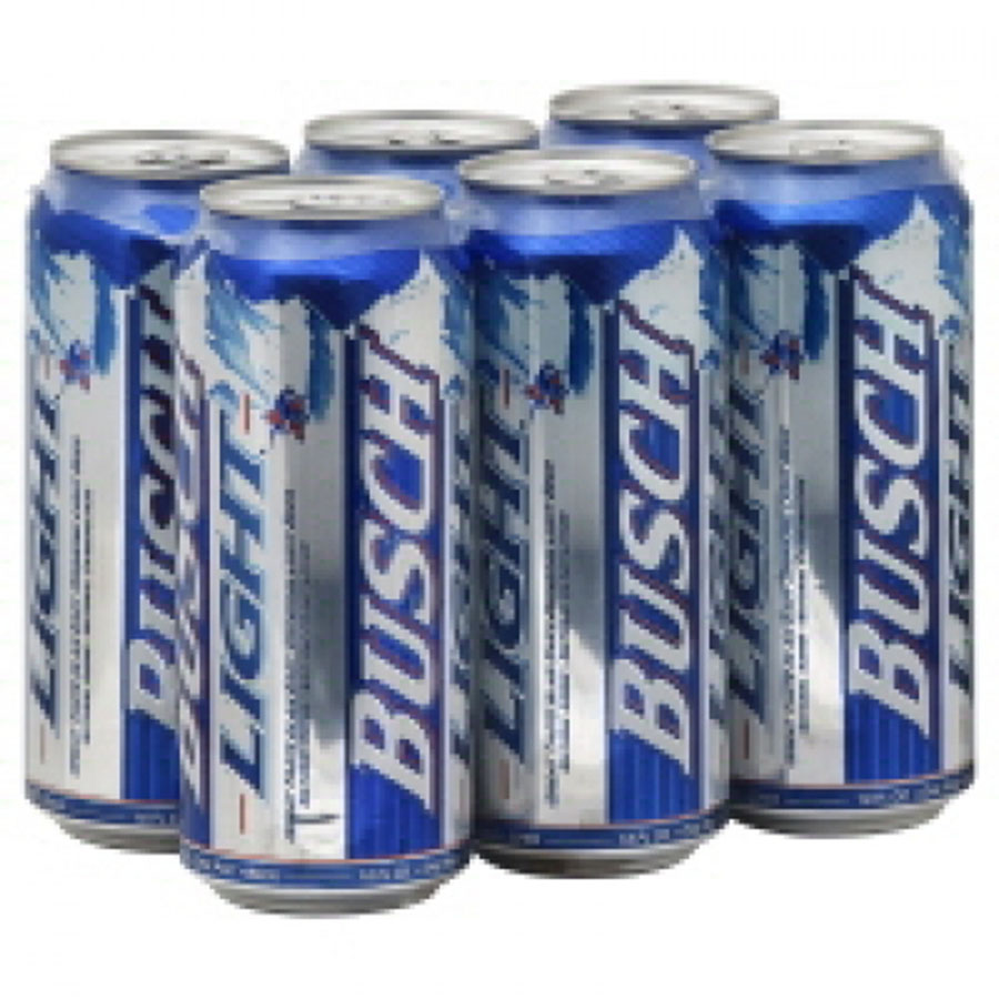 BUSCH LIGHT 6PK CAN