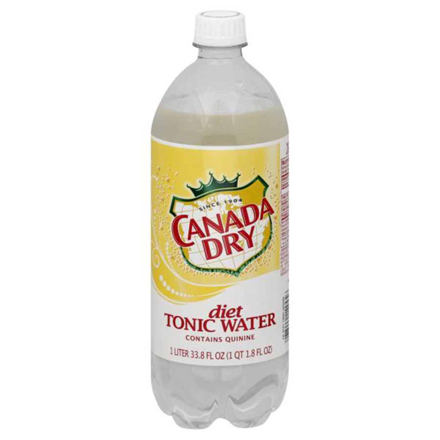 CANADA DRY DIET TONIC WATER LTR