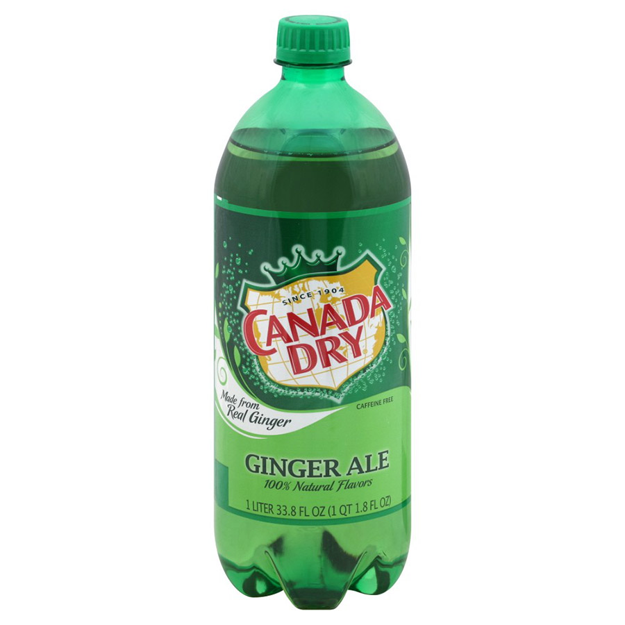 CANADA DRY GINGER ALE LTR