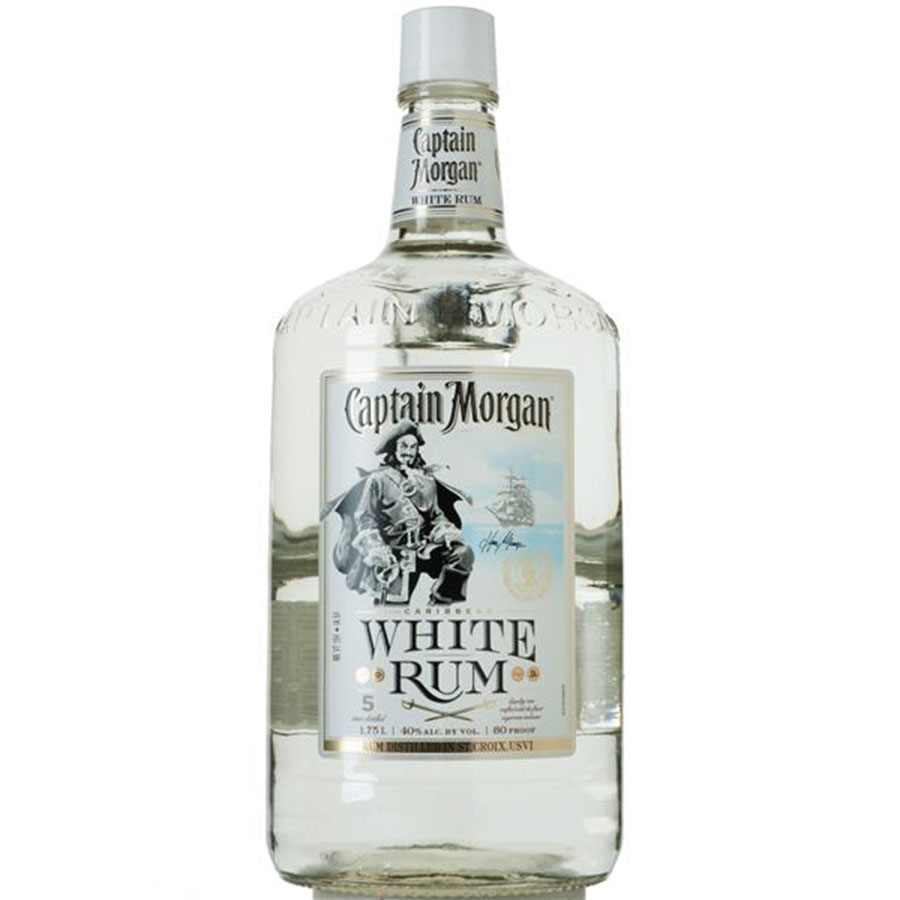 CAPTAIN MORGAN WHITE 1.75