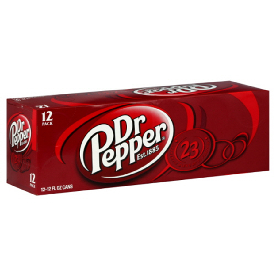 COKE DR. PEPPER 12CAN