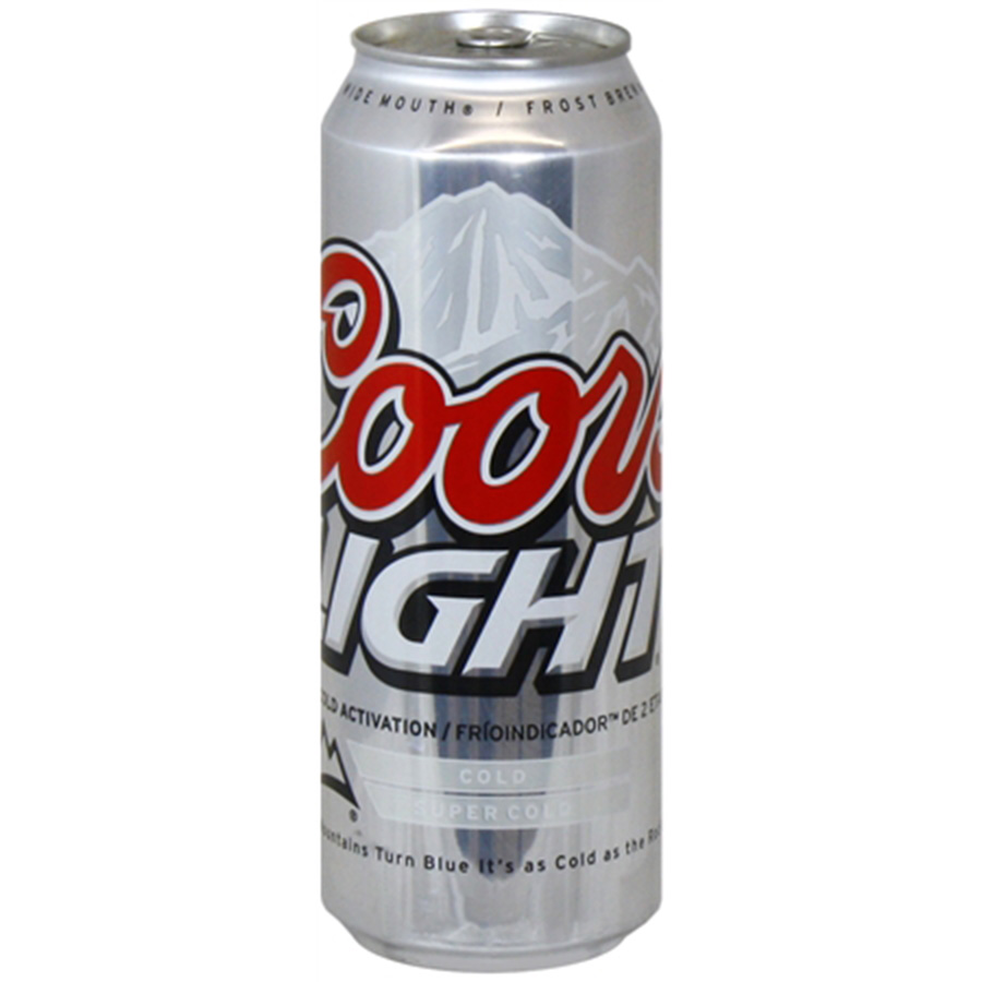 COORS LIGHT 24OZ CAN