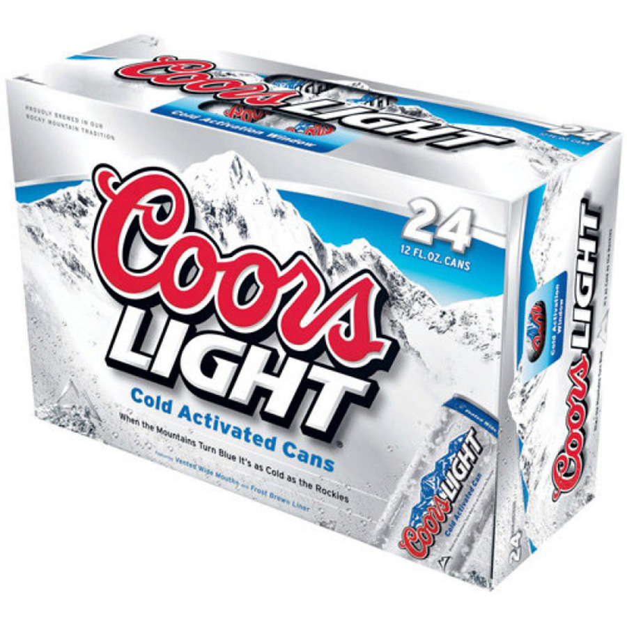 COORS LIGHT 24CAN