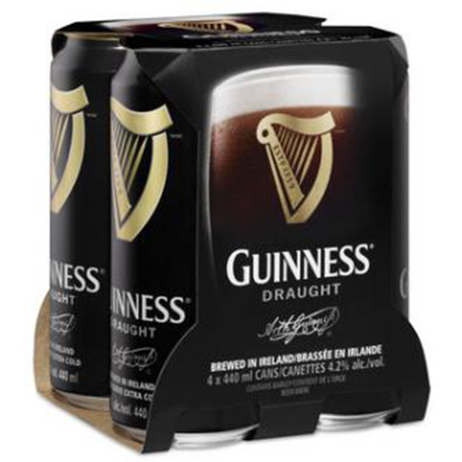 GUINNESS DRAUGHT 14.9OZ 4CAN