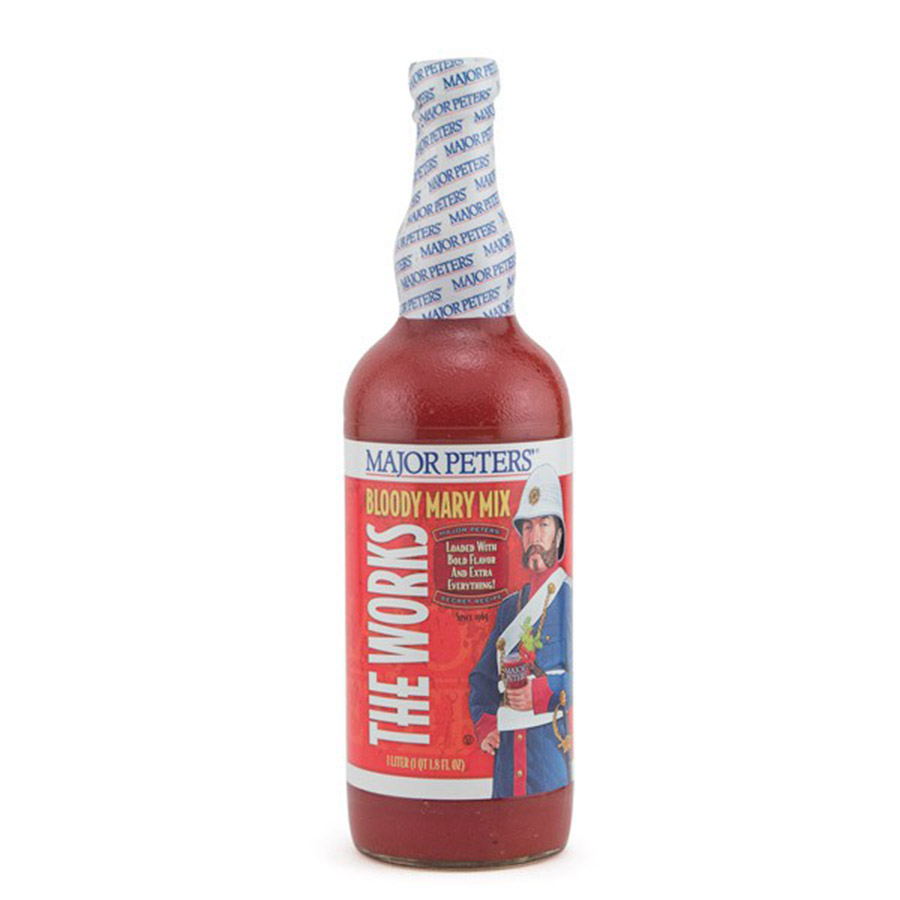 MAJOR PETERS BLOODY MARY MIX THE WORKS LTR