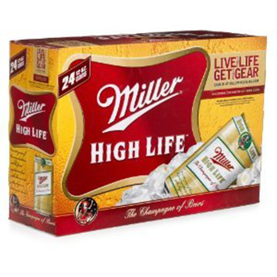 MILLER HIGH LIFE 24CAN