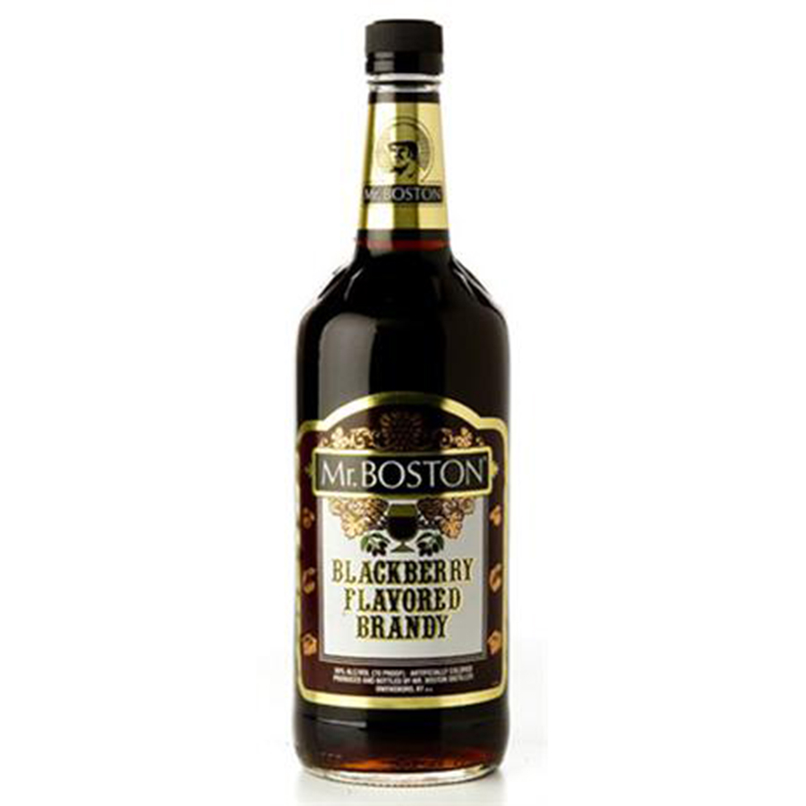 MR BOSTONS BLACKBERRY BRANDY LTR