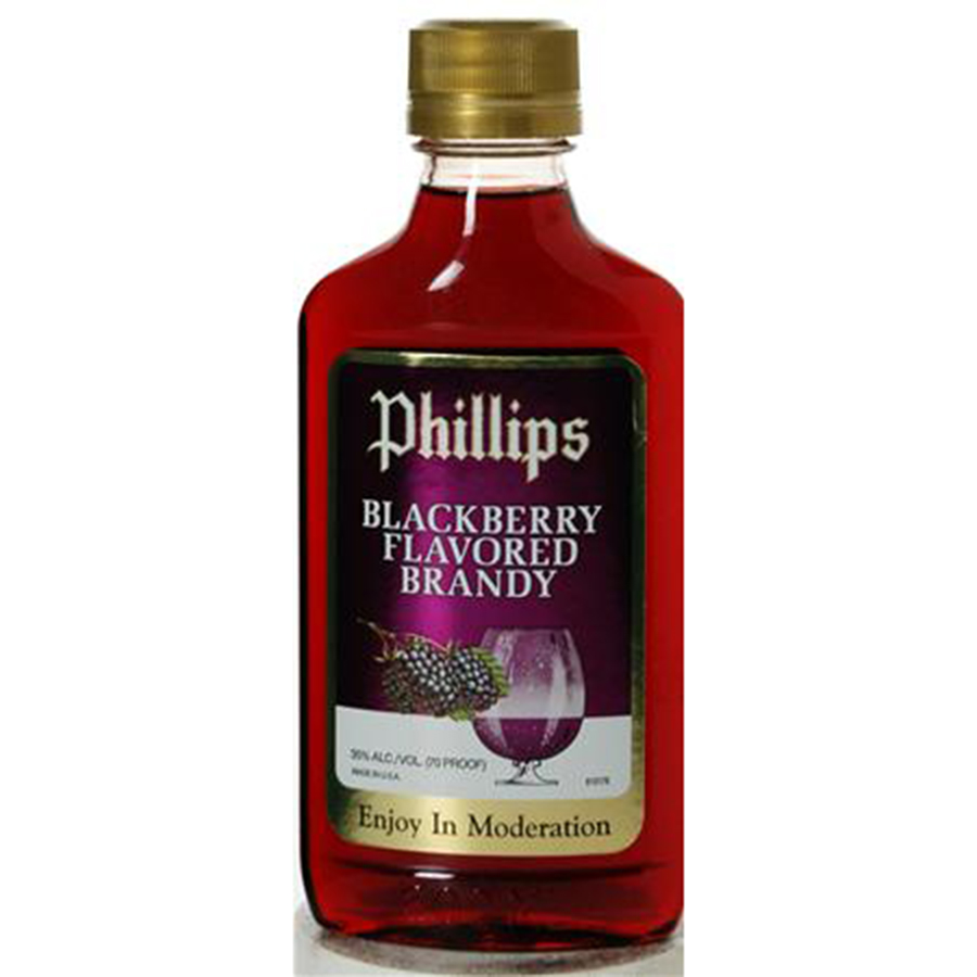PHILLIPS BLACKBERRY BRANDY 200