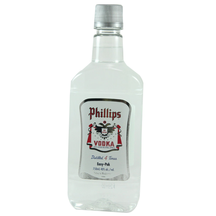 PHILLIPS VODKA 100 PROOF 750