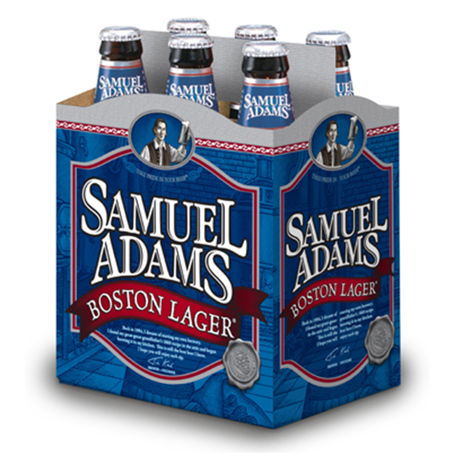 SAMUEL ADAMS BOSTON LAGER 6NR