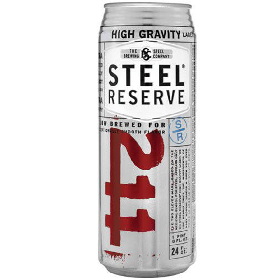 STEEL RESERVE 24OZ CAN