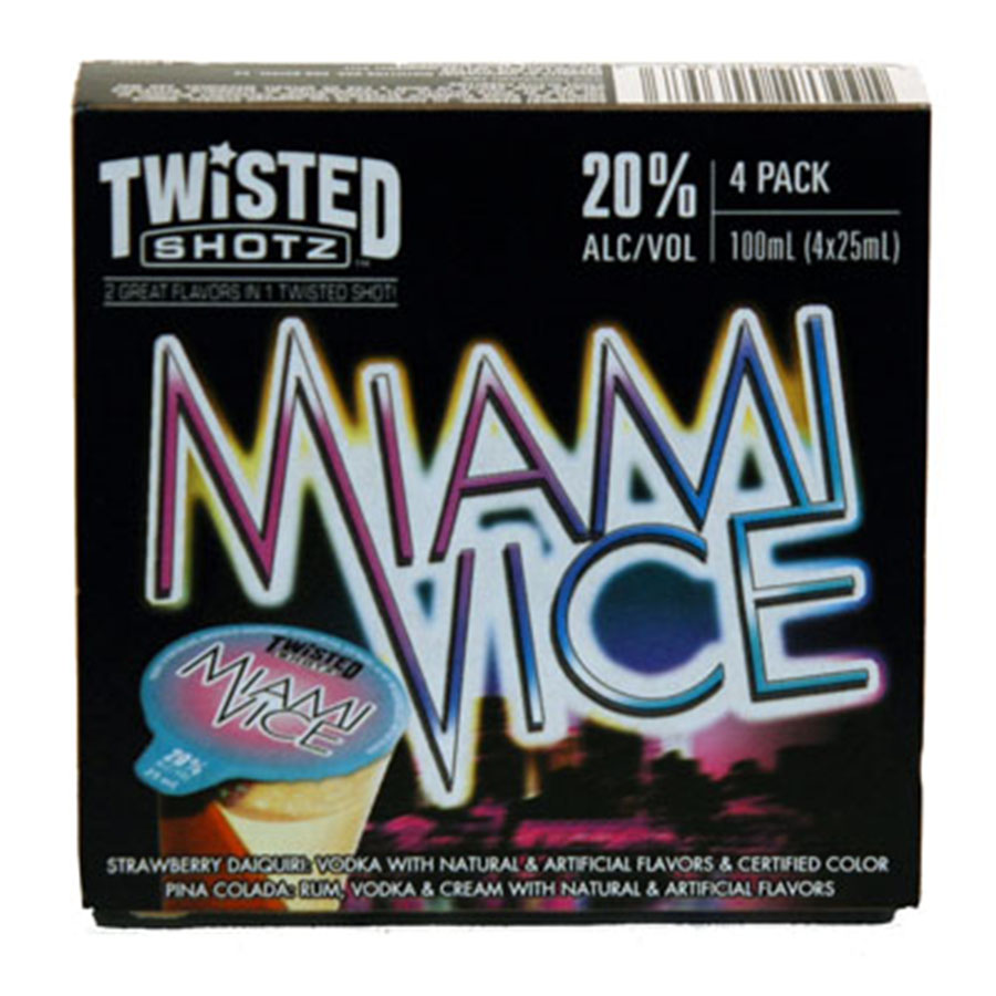 TWISTED SHOTS MIAMI VICE 4PK