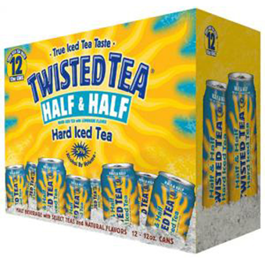 TWISTED TEA HALF AND HALF 12CAN