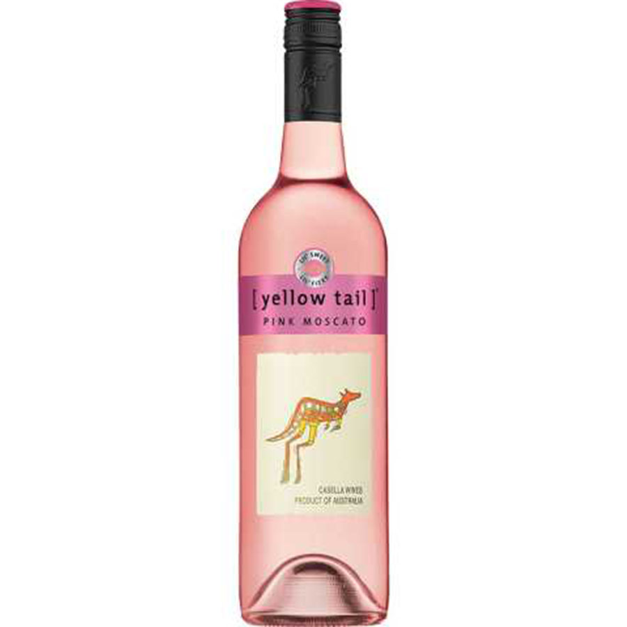 YELLOW TAIL PINK MOSCATO 750