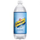 COKE SCHWEPPES CLUB SODA LTR