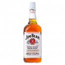 JIM BEAM WHITE LABLE WHISKEY LTR