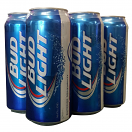 BUD LIGHT 16OZ 6CAN