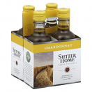 SUTTER HOME CHARDONNAY 187ML 4PK