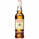 DEWARS WHITE LABEL WHISKY LTR