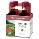 SUTTER HOME MERLOT 187ML 4PK