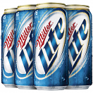 MILLER LITE 16OZ 6CAN