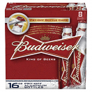 BUDWEISER 16OZ 8CAN